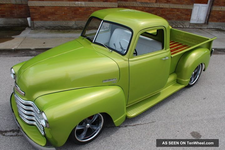 1949 Chevy Truck Rat Hot Rod Streetrod 49 50 51 52 53 Chevrolet Pickup ...