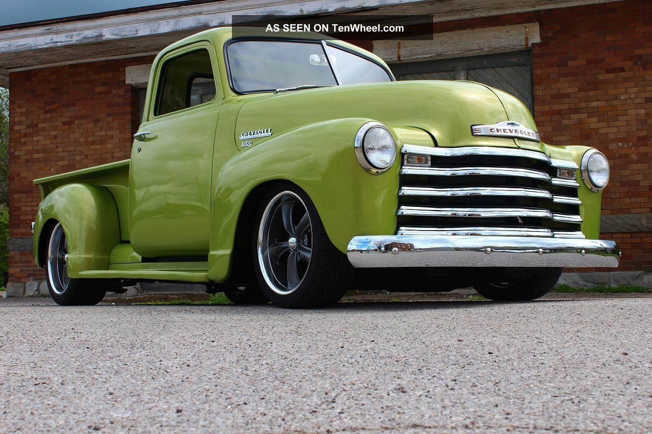 1949 Chevy Truck Lookup Beforebuying Stepside Hot Rod