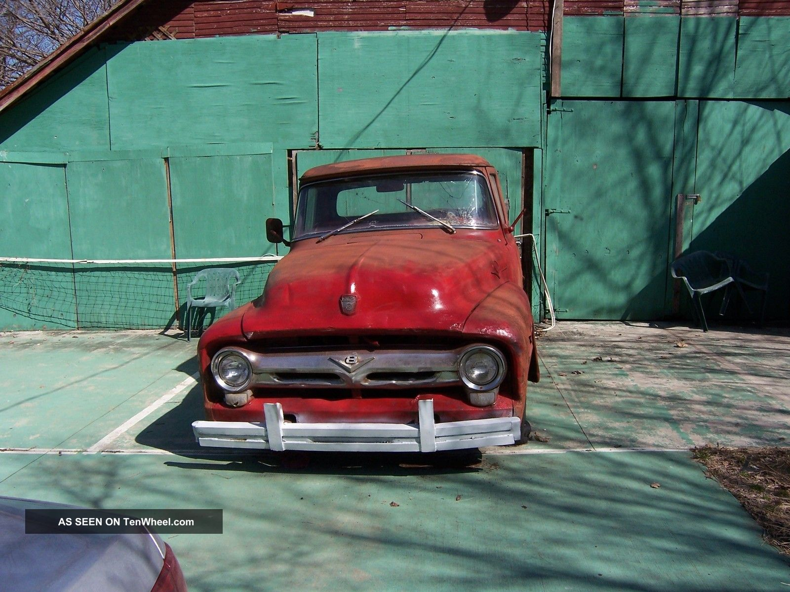 1956 Ford F - 100 Short Bed Side Step F-100 photo