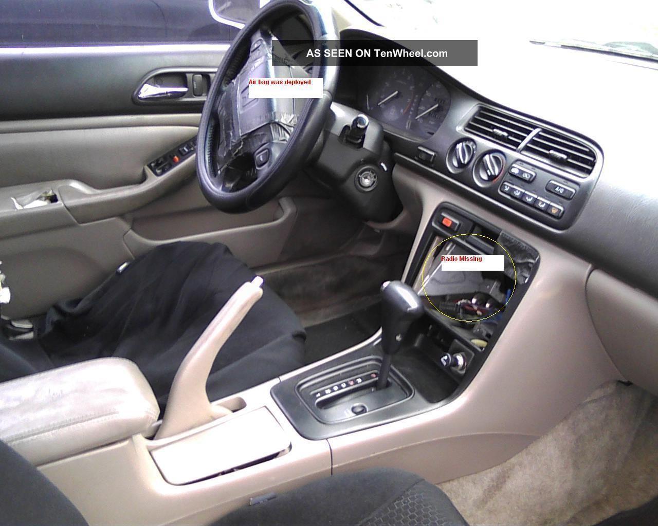 1996 Honda Accord Ex L 2 Door Coupe And