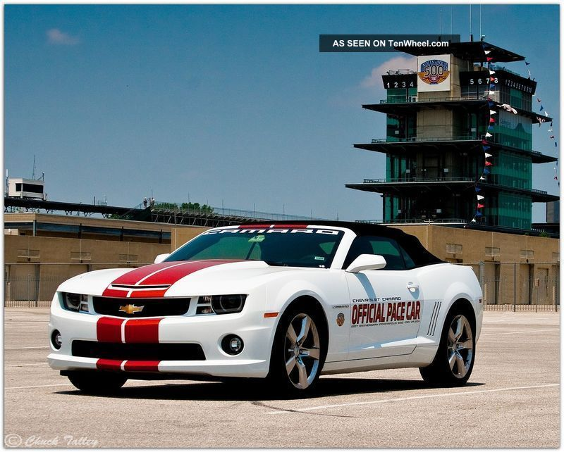 2011 Chevrolet Camaro Convertible 2ss Indy 500 Real Pace Car 1 Of 50 Camaro photo