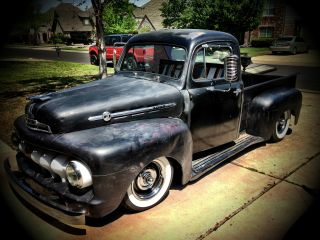 1952 Ford F100,  Rat Rod, photo