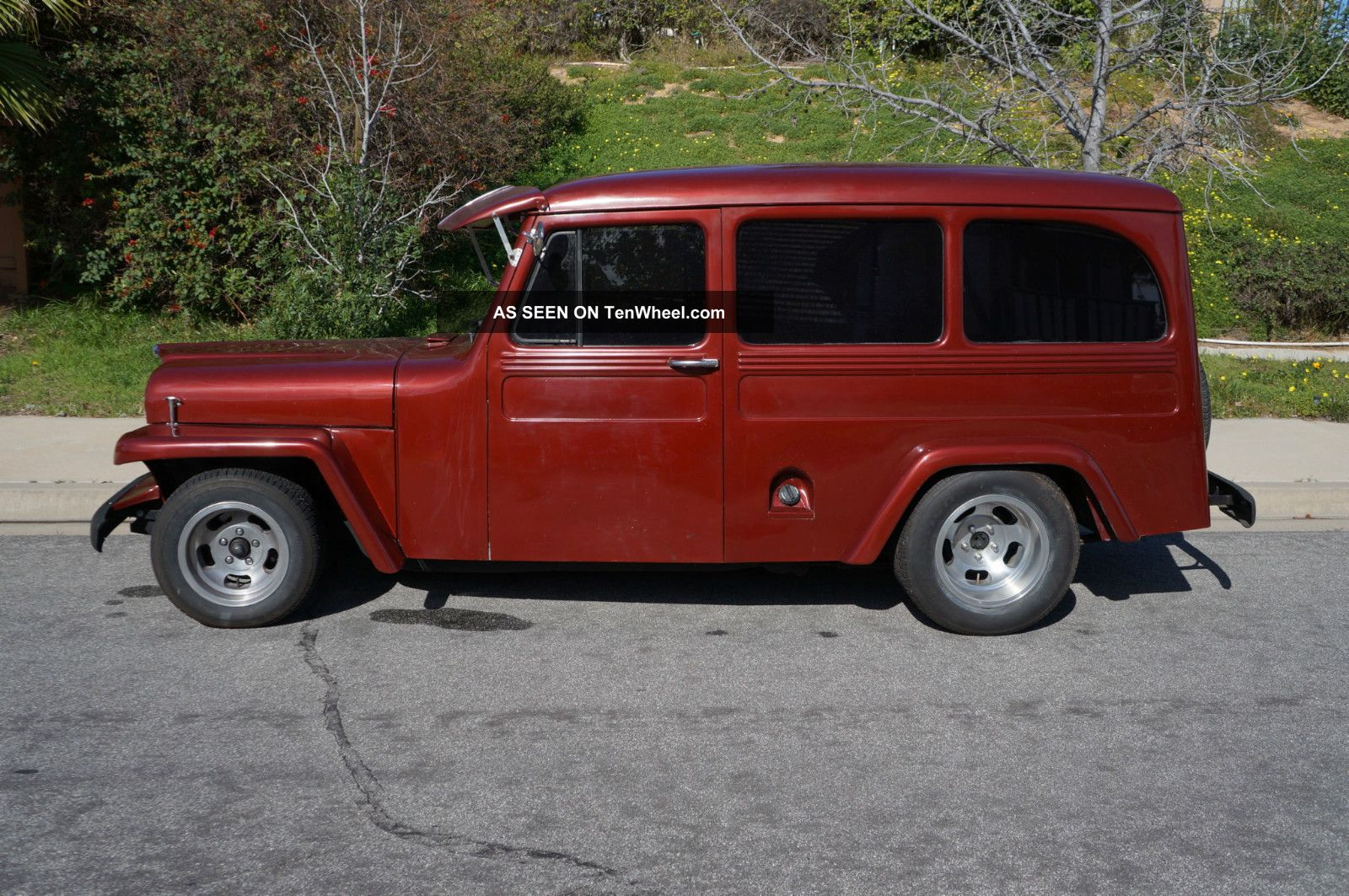 1951 Willys Wagon Jeep - Frame Off Rebuild - Runs & Looks Great Willys photo
