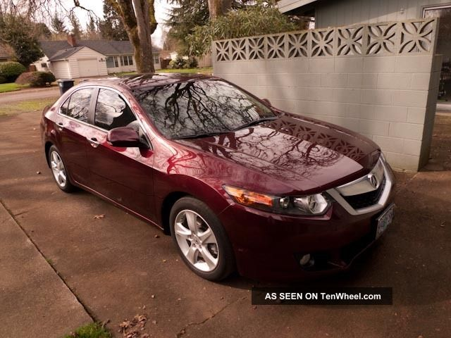 2010 Acura Tsx With Technology Package TSX photo
