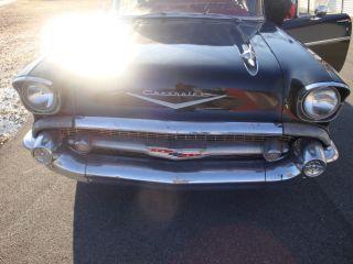 1957 Chevy 4 Door Hard Top Custom Convertible photo