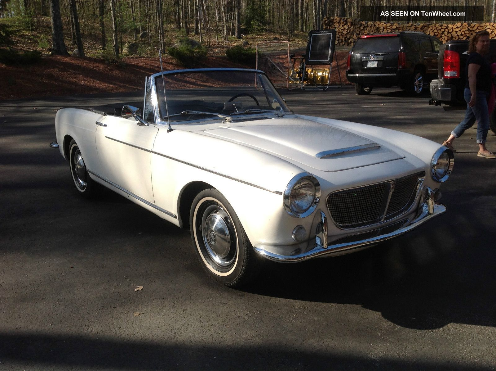 1959 Fiat 1200 Pininfarina Body Soft Top Other photo