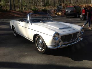1959 Fiat 1200 Pininfarina Body Soft Top photo