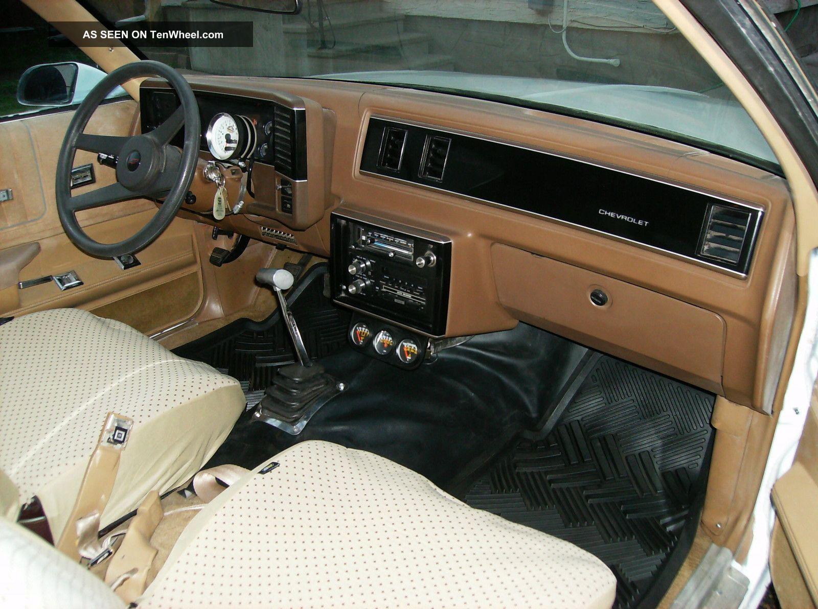 White 2 Door 1986 Chevrolet Monte Carlo Motor 540ci 700 H
