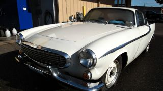 1964 Volvo 1800s White 1800 S 4 Speed Project Restoration photo