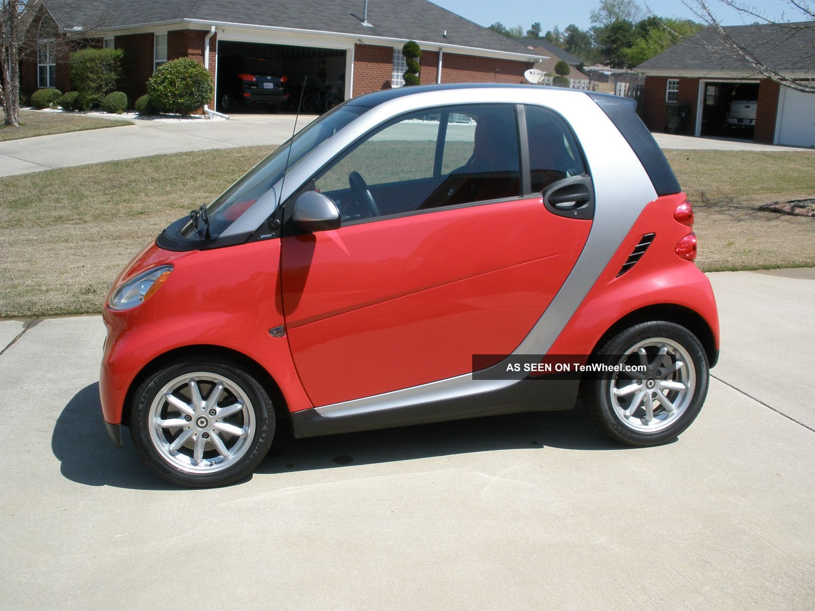2009 smart fortwo passion coupe. Black Bedroom Furniture Sets. Home Design Ideas