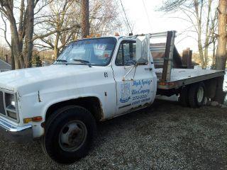 1989 Gmc Stake Truck photo