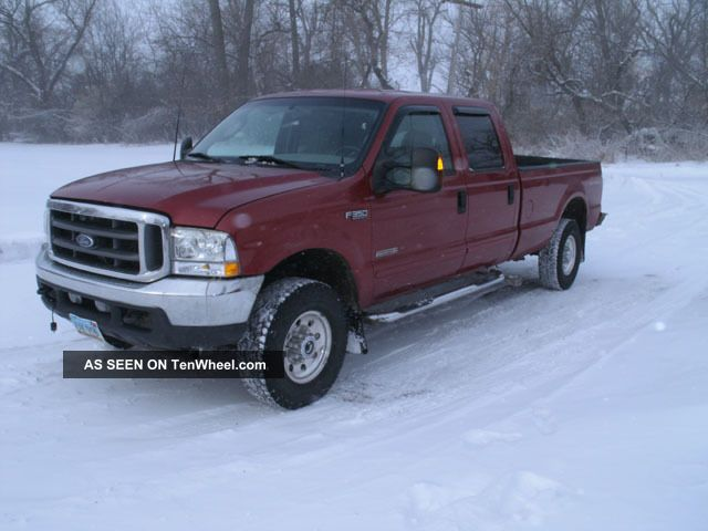Ford F 350 F - 350 Diesel 4x4 Srw Crew Long Box Xlt 2003 F-350 photo