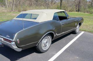 1968 Oldsmobile Cutlass Convertible.  Car. photo
