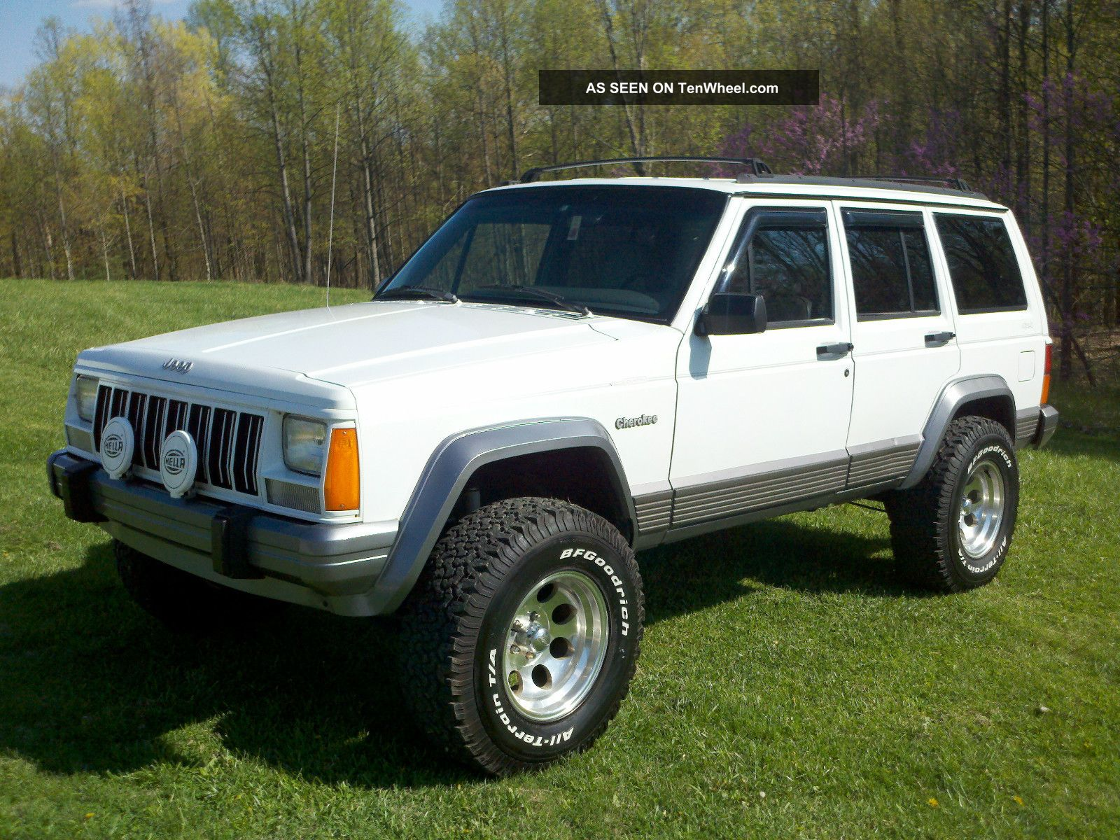 1995 Jeep Cherokee Country 4x4 Lifted Cherokee photo