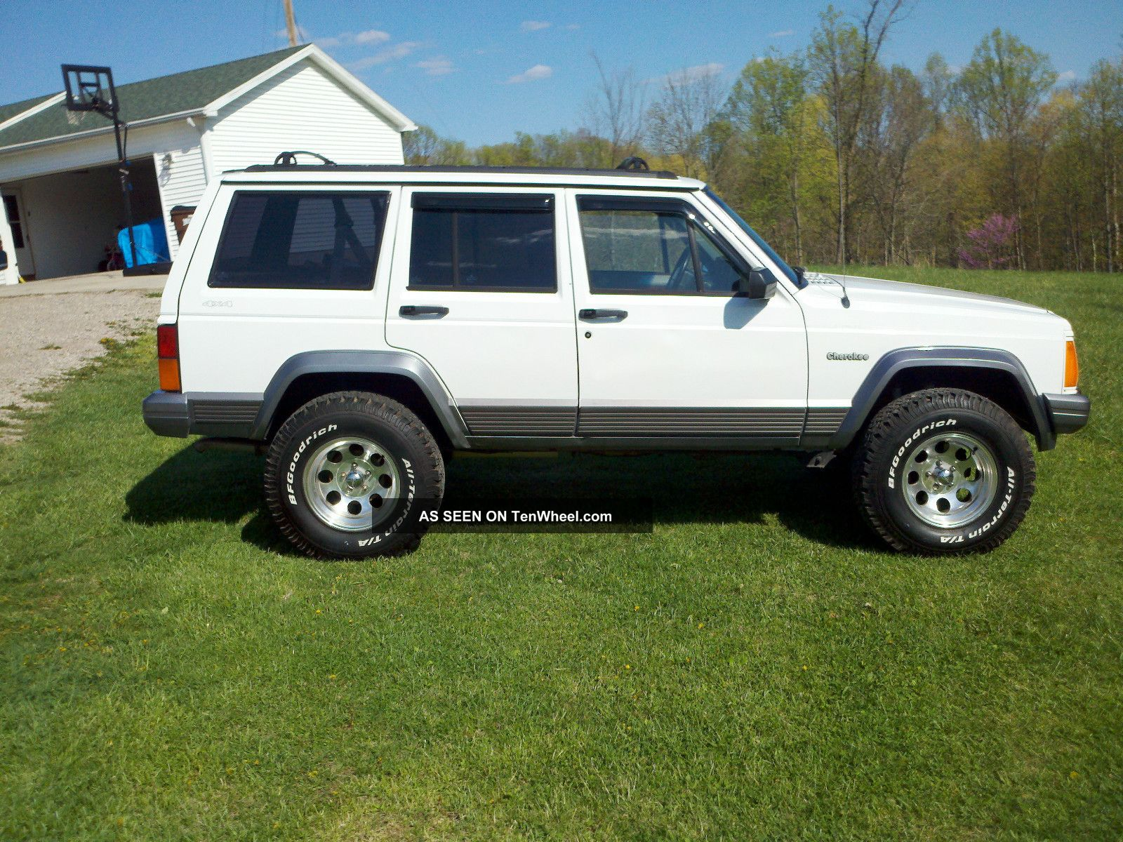1995 jeep cherokee country 4x4 lifted. Black Bedroom Furniture Sets. Home Design Ideas