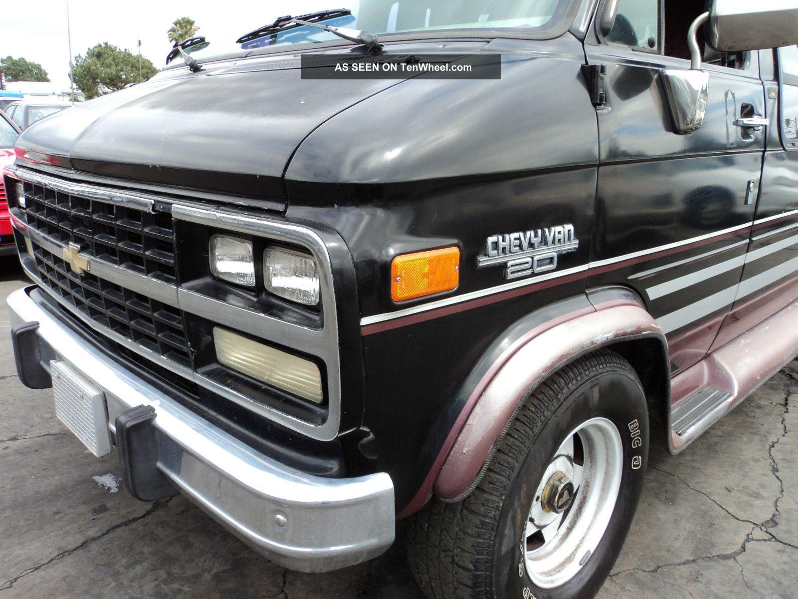 1993 Chevy Van 20,
