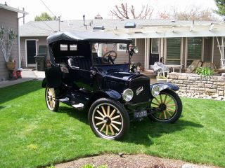 1923 Model T Touring Complete Frame Off Restoration Along With Talking Butler photo