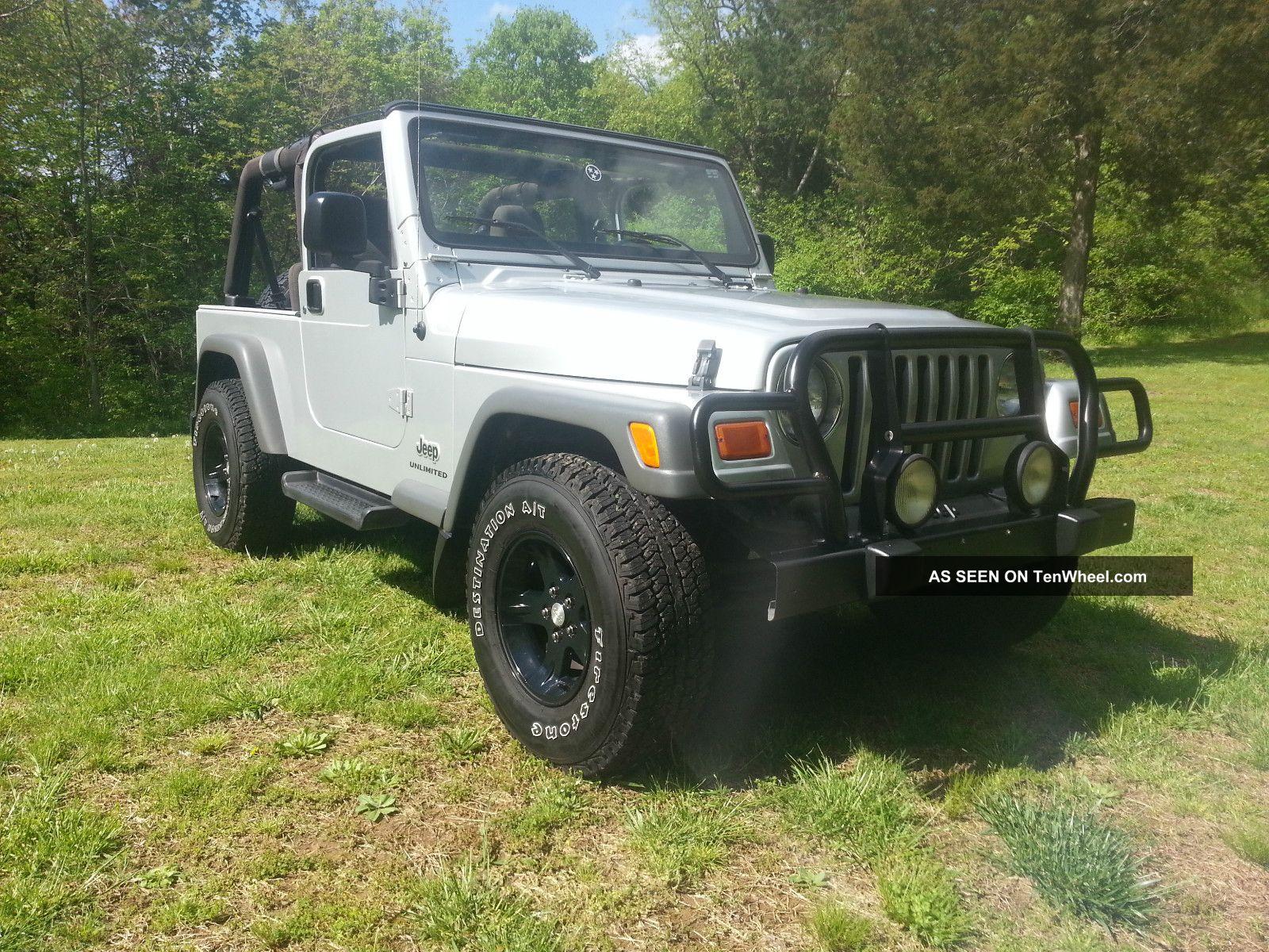2005 jeep wrangler unlimited sport utility 2 door 4 0l 4wd. Black Bedroom Furniture Sets. Home Design Ideas