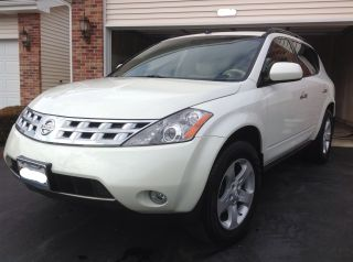 2004 Nissan Murano Sl Awd 3.  5l White Sharp photo