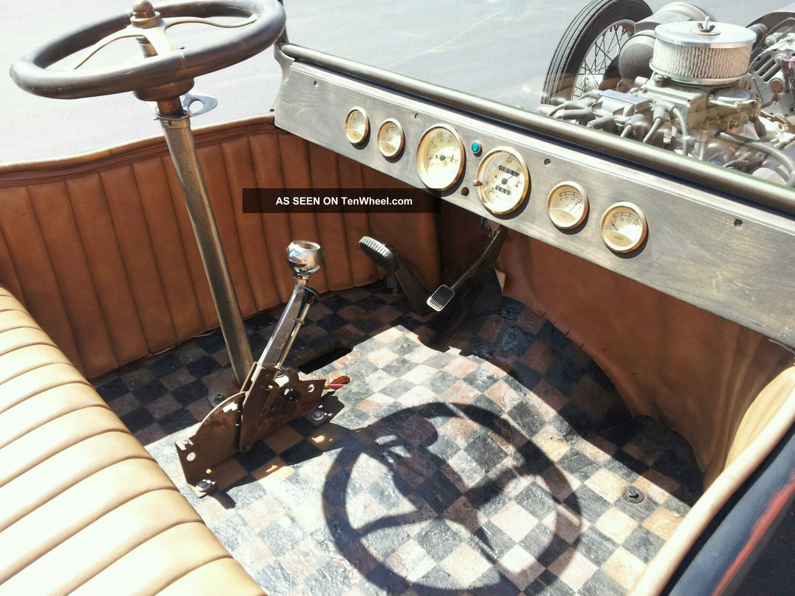 Dan Woods Built 1915 T Bucket Hot Rod Built In The 1960s 1970s