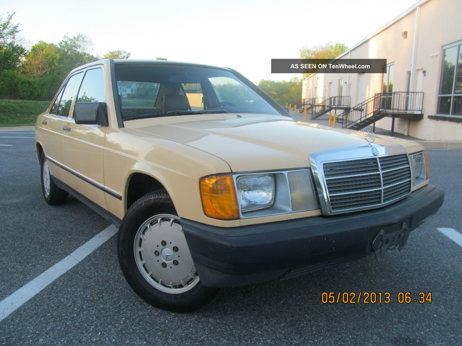 1984 mercedes benz 190d diesel 2 2l very rare collection. Black Bedroom Furniture Sets. Home Design Ideas