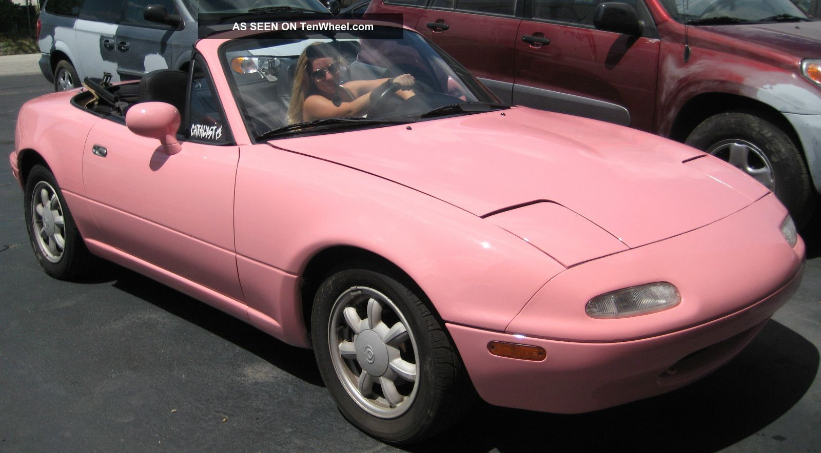 This Pink Barbie Beach Miata Unique Lgw