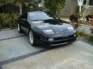 1993 Nissan 300zx Turbo Coupe 2 - Door 3.  0l - Black photo