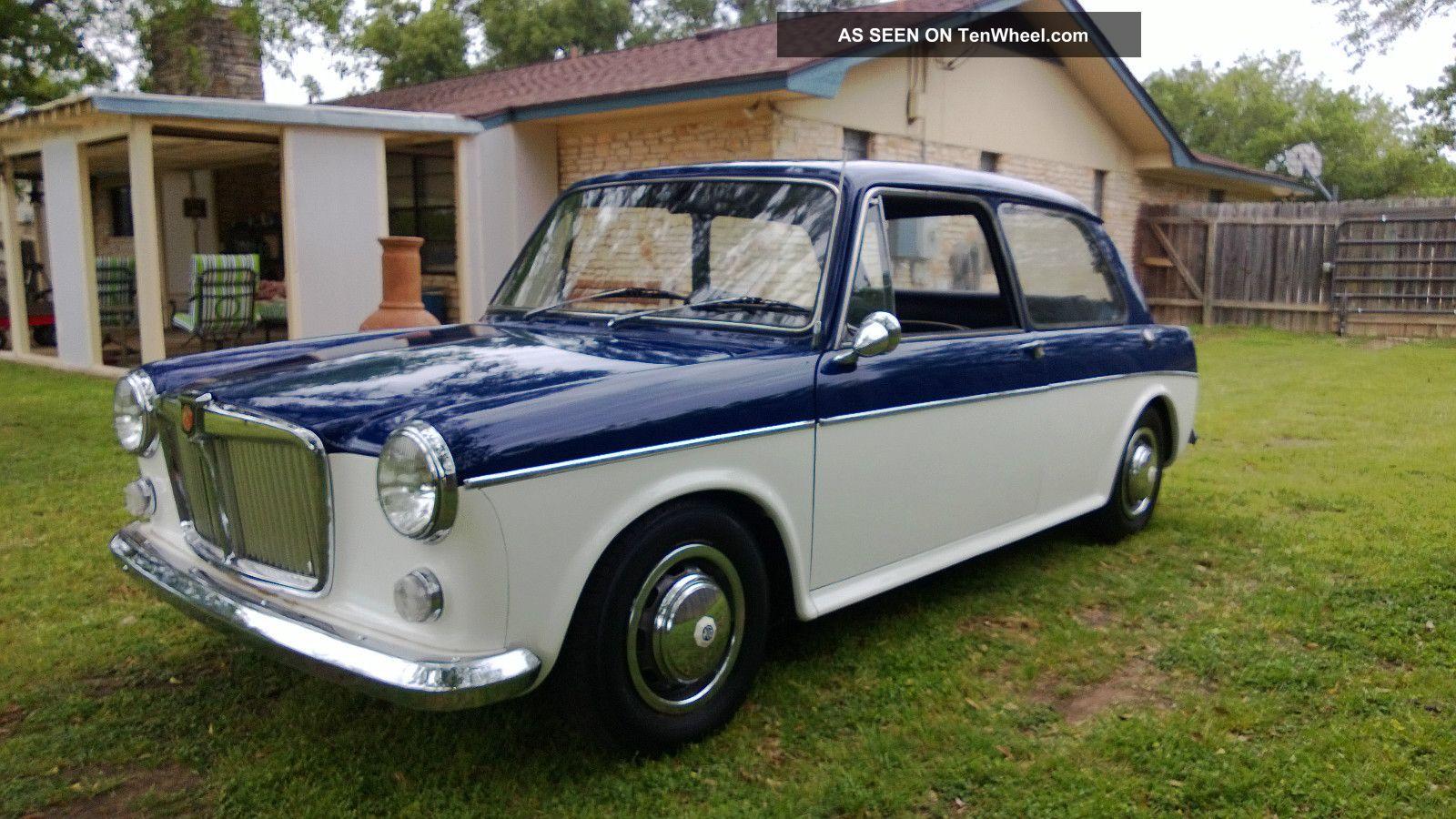 1963 Mg 1100 Sport Sedan