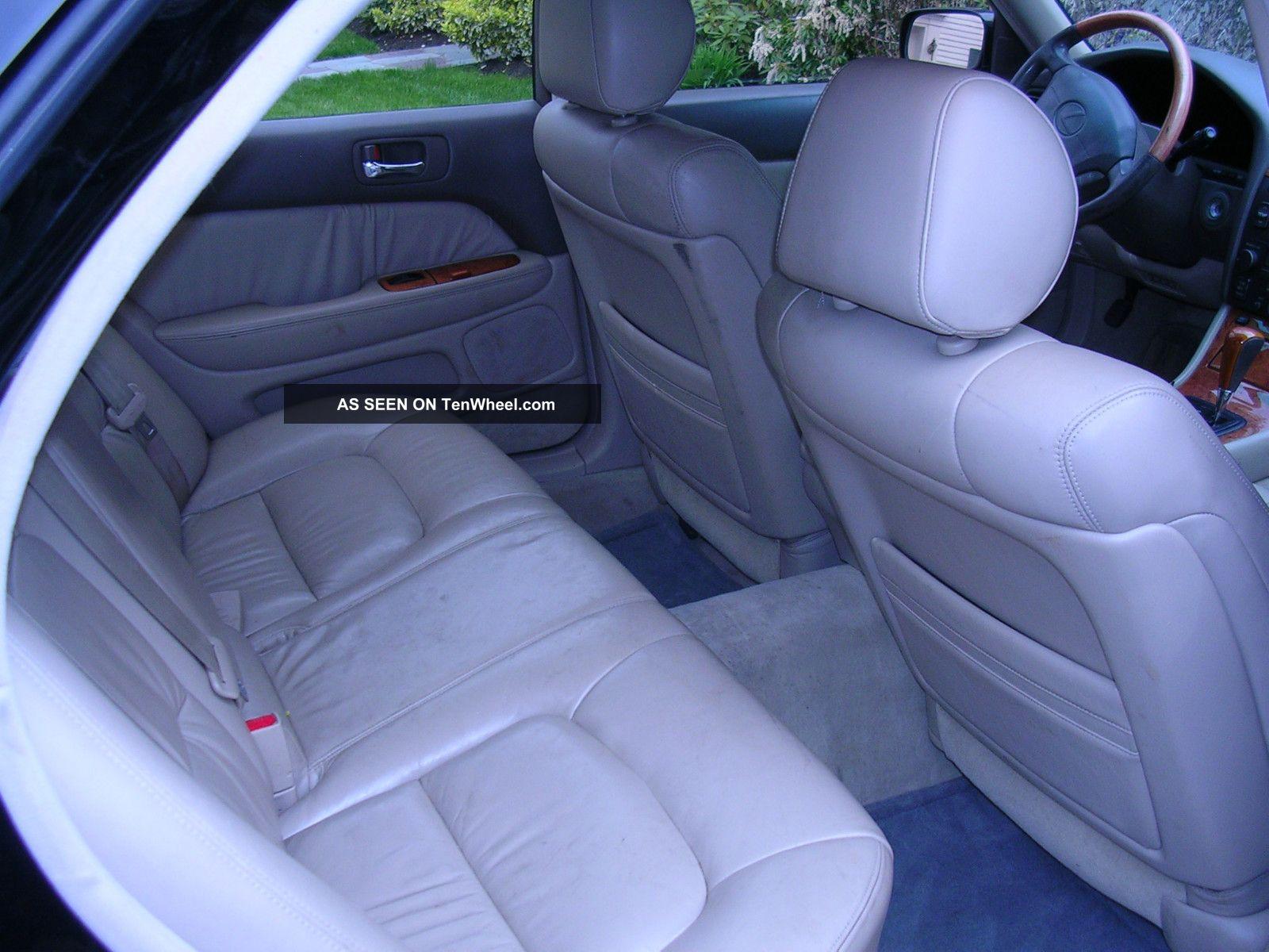 2000 Lexus Ls 400 Platinum Edition