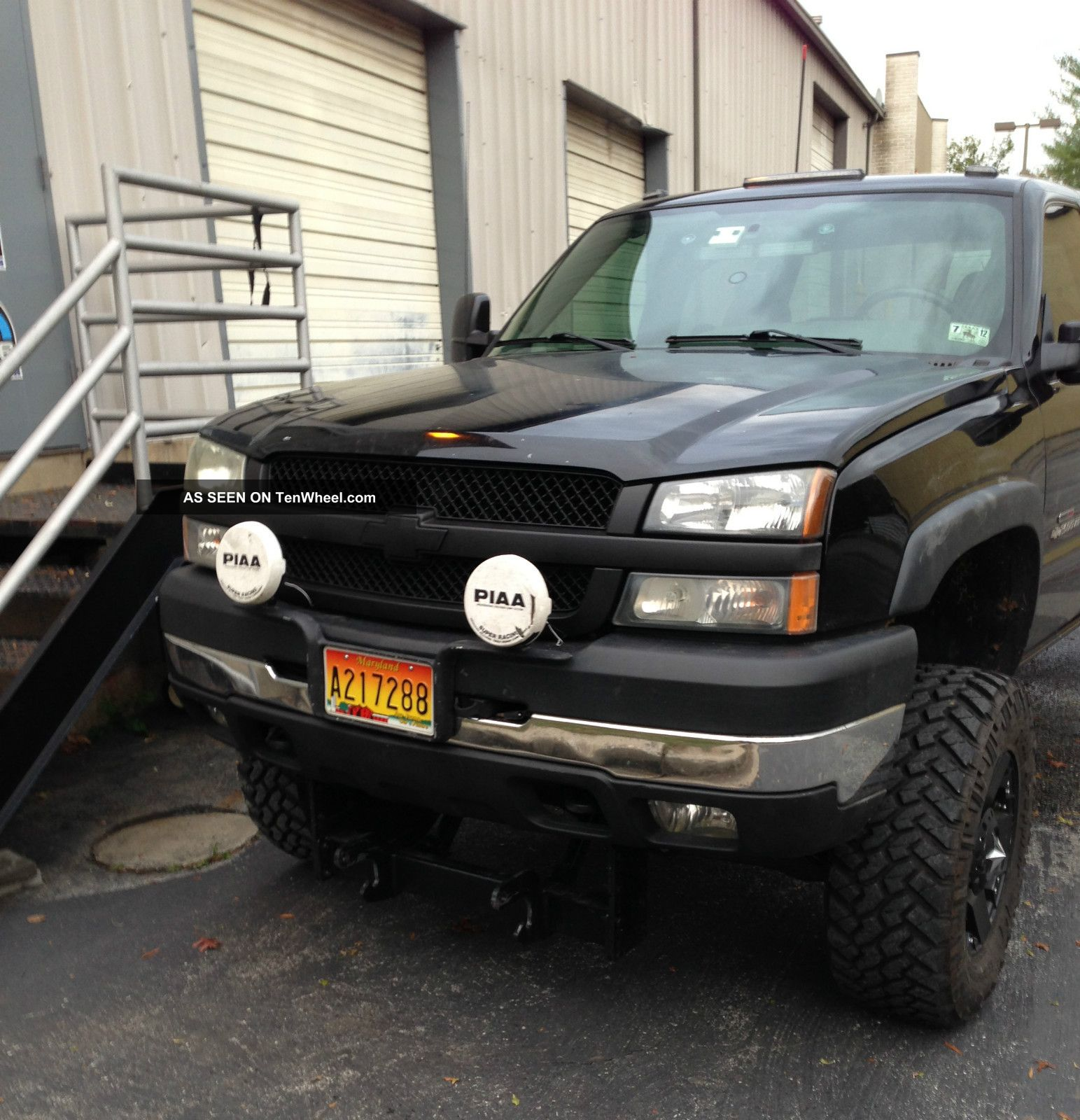 2004 5 chevy silverado 2500hd lly duramax engine with bds. Black Bedroom Furniture Sets. Home Design Ideas