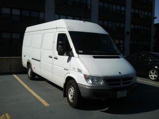 2004 Dodge Sprinter 2500 Base Standard Cargo Van 3 - Door 2.  7l photo