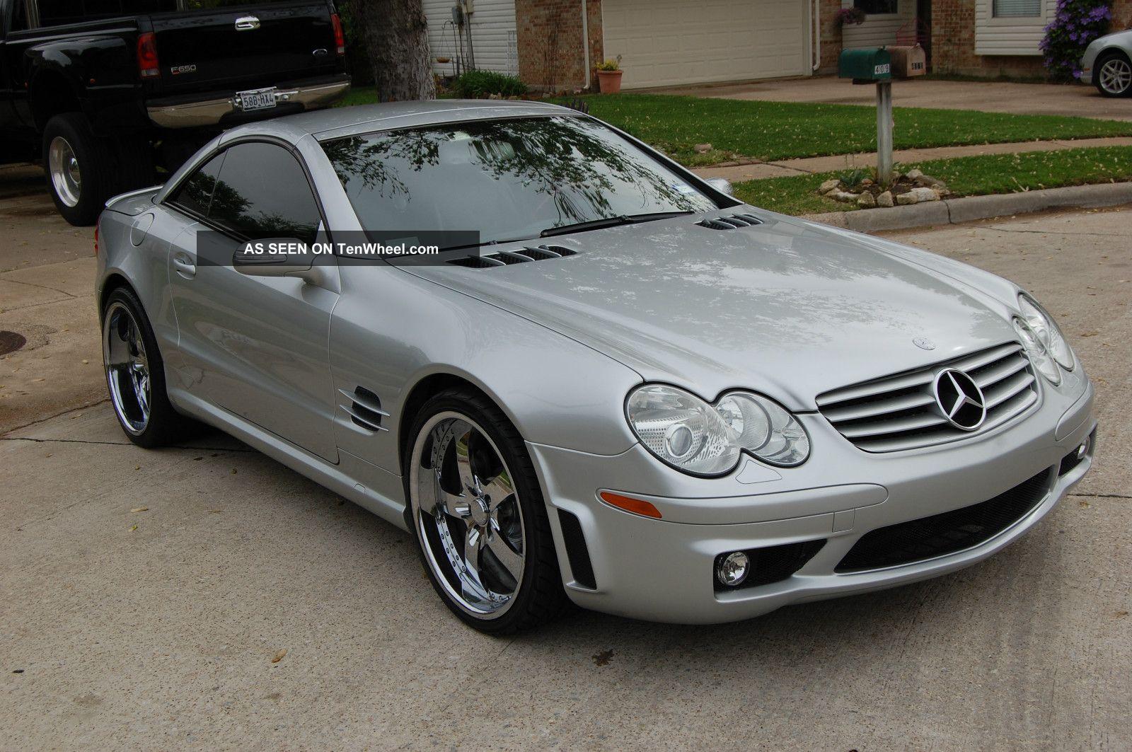 2005 sl500 loaded 20 custom velano 39 s sl65 body kit all for 2005 mercedes benz sl500