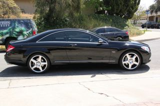 2009 Mercedes - Benz Cl600 2 - Door Coupe V12 Turbo Charged 5.  5l photo