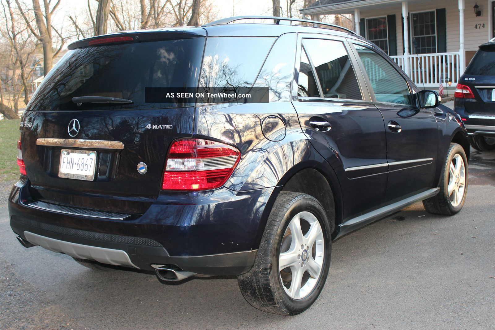 2008 Mercedes Benz Ml350 4matic W