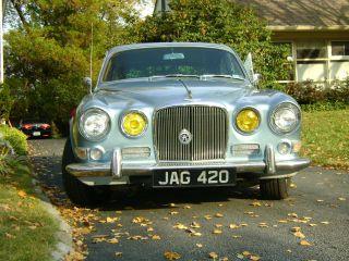Classic 1967 Juguar Saloon Model 420 Last Of The Baby Jaguars photo