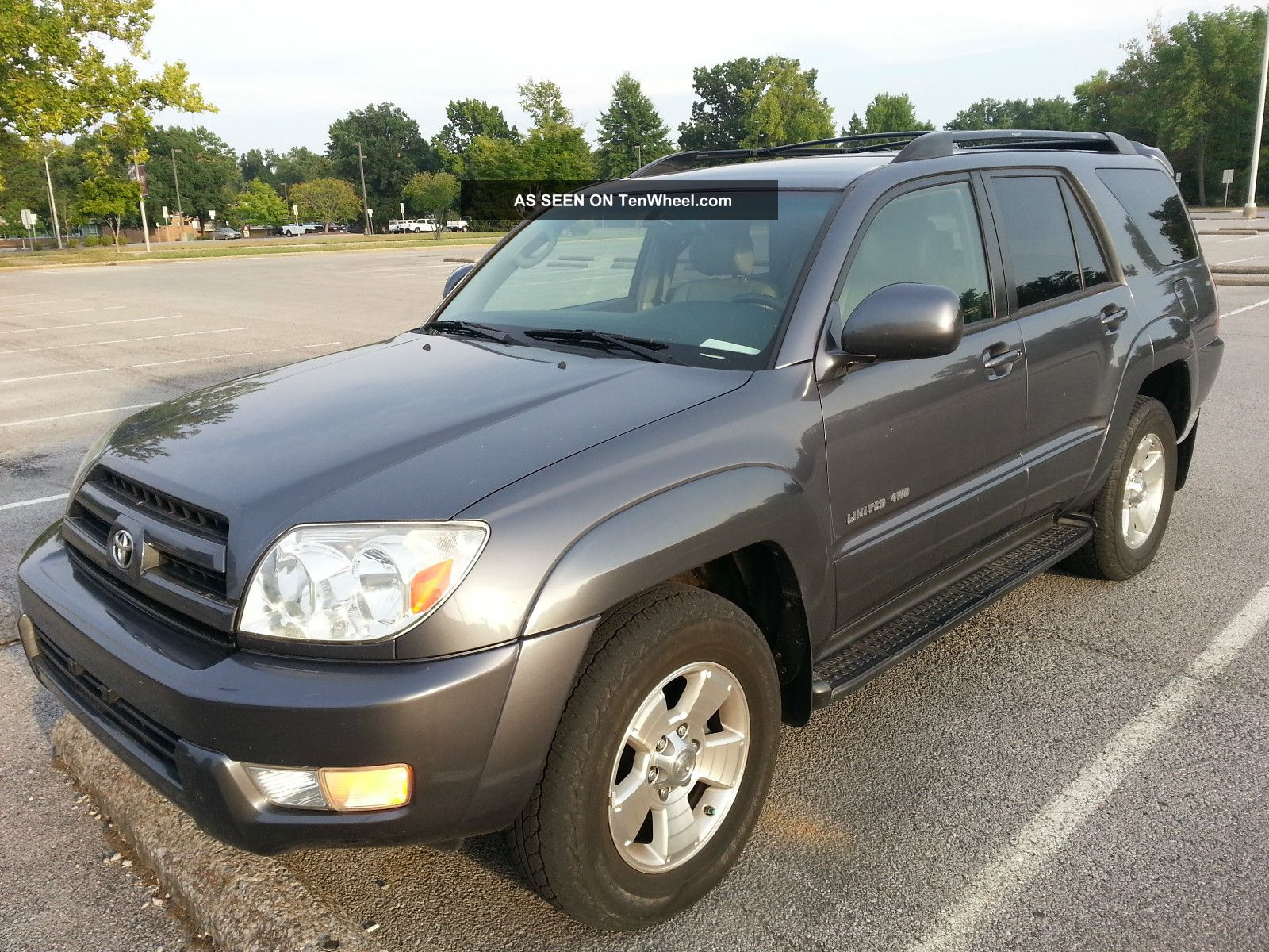 2005 toyota 4runner limited sport utility v6 4 door 4 0l 4wd third