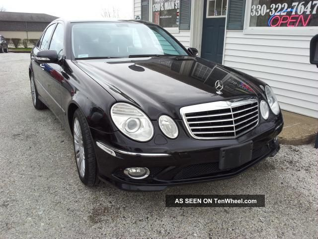 2007 mercedes benz e350 4matic sedan sports package for 2007 mercedes benz e350 4matic