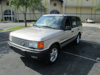 1999 Range Rover 4.  6 Hse Sport Utility 4x4 Fl Truck photo
