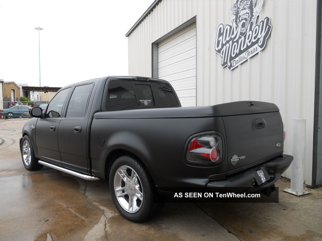2001 ford f 150 harley davidson edition crew cab pickup 4 door 5 4l. Black Bedroom Furniture Sets. Home Design Ideas
