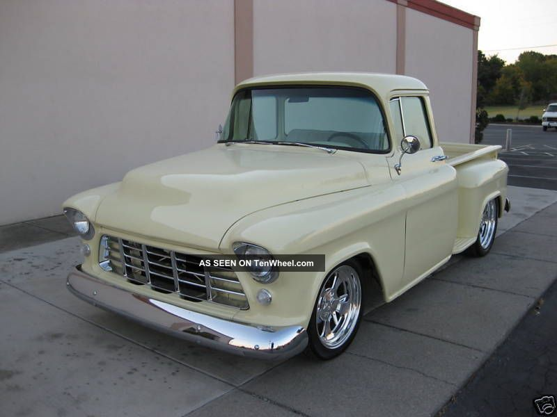 Hotrod Stunning 1955 Chevy Stepside Pickup Signed By Billy ... on