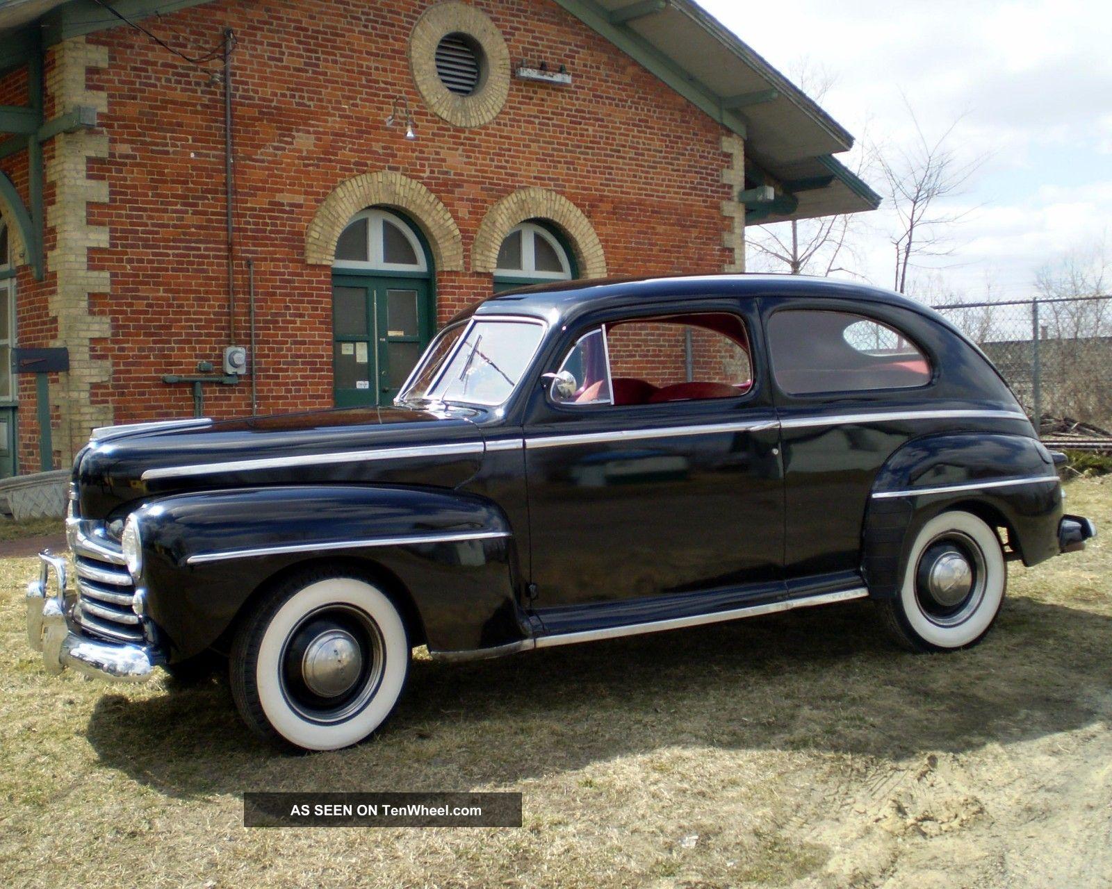 1947 ford deluxe 2 door sedan hot rod rat rod custom for 1947 dodge 2 door sedan