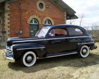 1947 Ford Deluxe 2 Door Sedan, ,  Hot Rod,  Rat Rod,  Custom. photo