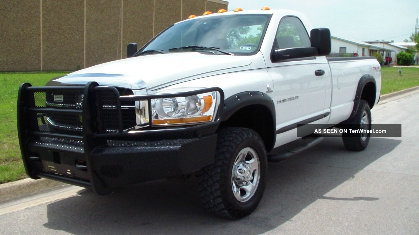 2006 dodge ram 2500 regular cab cummins 5 9l diesel 4x4 slt. Black Bedroom Furniture Sets. Home Design Ideas