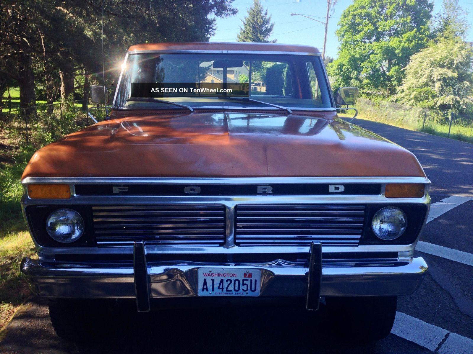 1976 F150 Ranger Xlt Review 1975 Ford F 150