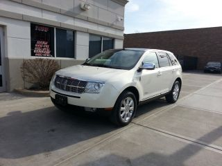 2008 Lincoln Mkx Base Sport Utility 4 - Door 3.  5l photo