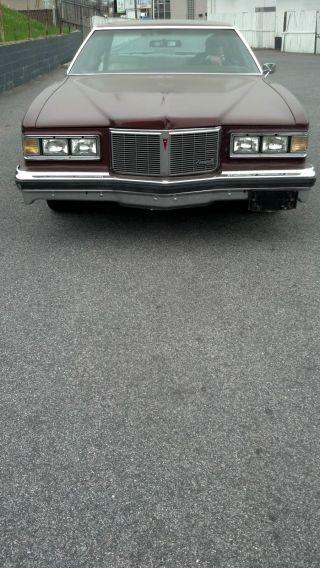 1976 Pontiac Bonneville Base Coupe 2 - Door 7.  5l - - - American Muscle photo