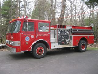 1985 Pierce - Arrow Pumper Fire Truck photo