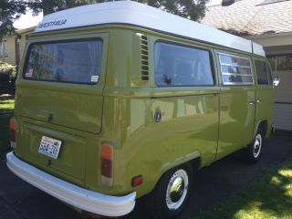 1978 Newly Repainte Green Color,  Vw Westfalia Bus With photo