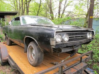 1968 Ford Torino Gt S Code Body Black On Black photo