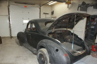 1940 Ford Standard Project Car With Fat Man Frame photo